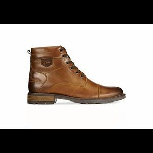 SOLD!!! ALFANI JACK LEATHER BOOT